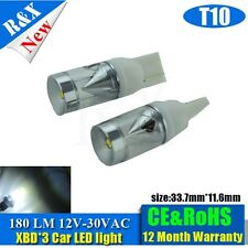 2x T10 CREE 3XBD high power Wedge Lamp 180lm AC12-30V with top quality