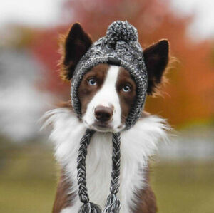 Winter Warm Windproof Pet Dog Hat Cap Christmas Knitted Pet Hats Dog Accessories
