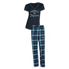 Jacksonville Jaguars Women's NFL Duo Shirt And Pants Pajama Sleepwear Set