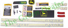 John Deere 4x2 Gator Older Style Decal Kit
