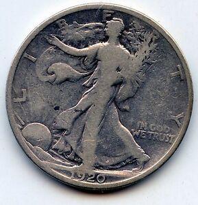 Walking Liberty half 1920-p (SEE PROMO)