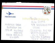 Czech Republic 2005 Airmail Cover To UK #C2112