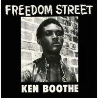 Ken Boothe - Freedom Street (Red & Yellow Swirl) (NEW VINYL LP)