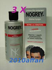 ELIO NOGREY LOZIONE EXTRA CON KERATINA ANTIGRIGIO 200 ml - 3 CONFEZIONI