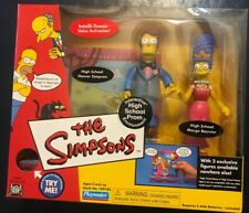 The Simpsons High School Prom Interactive Environment and Figures Playmates 2002