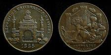 Belgium / Antwerp - Medal 1885  Universal Exposition Event ~ Leopold Wiener