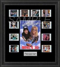Waynes World Framed 35mm Film Cell Memorabilia Filmcells Movie Cell Presentation