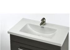 "Empire K24W8 Kira 24"" Bathroom Vanity Top Faucet Mount: 3 Holes 8"" Spread"