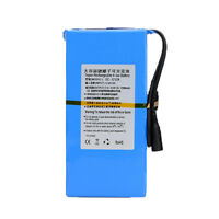 DC-1212A 12V 12000mAh Portable Super Rechargeable Li-ion Battery Pack UK/EU Plug
