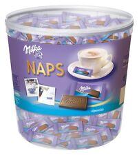 Milka Naps Alpenmilch Schokolade (207 Stück) 1 Kg Dose