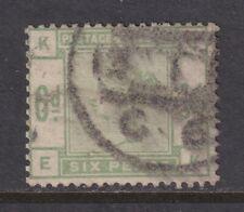 Great Britain SG 194 Scott 105 1884 6d Dull Green Queen Victoria Victoria E-K