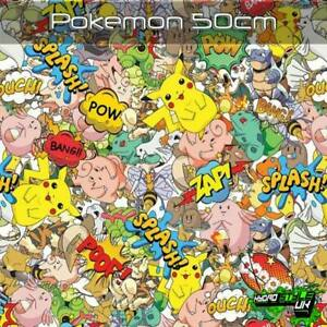 ROLLED - POKEMON Hydrographics Film Hydro Dipping UK Transfer Graphic Print