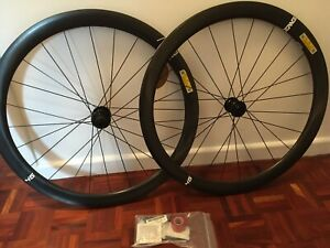 Enve Foundation 45 Road Carbon Disc brake Wheelset with XDR Or Shimano freehub