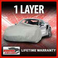 1 Layer Car Cover - Soft Breathable Dust Proof Sun UV Water Indoor Outdoor 1187