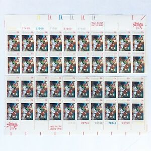 "2 MINT BLOCK of 20: 1976 Scott#1701 ""Christmas"" 13¢ Stamps"