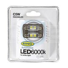 LAMPADINA LED RING - 12 V C5W 6000K-LED - Bianco (RW2396LED)