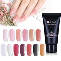 13 Color 30ml Poly Building Gel UV LED Nail Tips Quick Extension  Pink