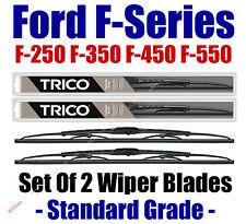 1988-1996 Ford F250 F350 F450 F550 F-Series Super Duty Wiper Blades 2pk 30180x2