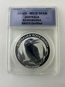 2012 Austalian Kookabura fine Silver Dollar.