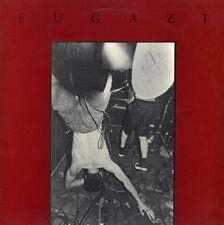 FUGAZI - s/t Self Titled LP Vinyl Album - Ian MacKaye Waiting Room Punk Record