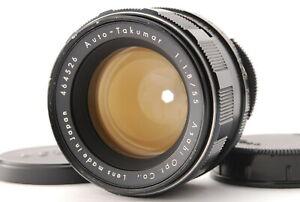 EXC+++++/ PENTAX Auto-Takumar 55mm F1.8 M42 Lens from Japan #0816
