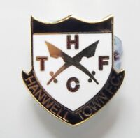 Hanwell Town  Football Club Enamel Badge - Non League Football Clubs -