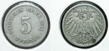 5 Pfennig - 1911 F - Kaiserreich - Deutsches Reich      (544)***