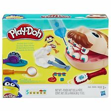 Kids Play-Doh Doctor Drill 'N Fill Retro Pretend Toy Dentist Clay Pladoh