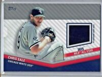 2020 Topps Update Chris Sale All Star Stitches Relic Materials