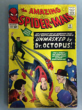 THE AMAZING SPIDER-MAN (1964) #12  3RD APPEARANCE DOCTOR OCTOPUS DOC OCK DITKO