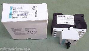 Siemens SIRIUS 3RV1021 1AA10 Leistungsschalter Motorschutzschalter Schalter