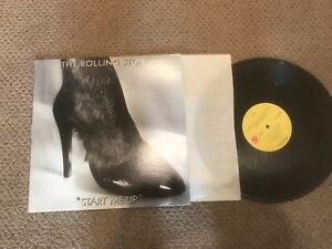 The Rolling Stones Start me up Record Ip Original Promo