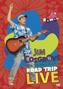 "Jim Cosgrove: Mr. Stinky Feet's Road Trip Live DVD - KIDS "" THE WIGGLES "" ESQUE"