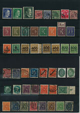 Germany, Deutsches Reich, Nazi, liquidation collection, stamps, Lot,used (EG 11)