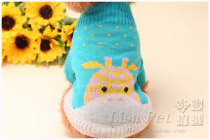 Puppy Cat Sweater Small Dog Pet Warm Coat Clothes Knitted Winter Costume Apparel