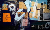 61329 Jean Michel Basquiat Untitled Wall Print POSTER AU