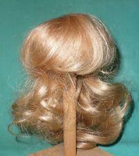"""Poupée Perruque/Cheveux 11"""" à 12"""" Blond, Boucles Hand Knitted"""