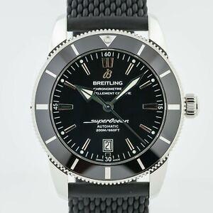 Breitling SuperOcean Heritage II 46, Ref AB202012-BF74, St Steel, Black Dial