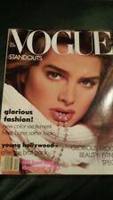 VOGUE December 1987 Avedon Brooke Shields Rachel Williams Christy Turlington