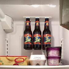 6 Magnétique Bière Porte-Bouteille Pot Hanger Organisateur Stockage pour réfrigérateur congélateur