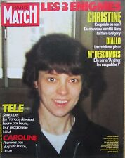 PARIS MATCH de 1985 AFFAIRE GREGORY VILLEMIN / CAROLINE MONACO / DANIEL GUICHARD