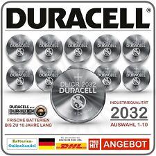Duracell Duralock Knopfzelle DL2032 CR2032 2032 3V Lithium Industrieware/Bulk