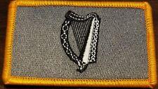 IRELAND Flag Patch W/ VELCRO Brand Fastener Tactical Morale IRISH Version #5