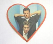 ADESIVO anni '90 /Old Sticker BEVERLY HILLS 90210 - DYLAN e BRANDON (cm 9)