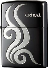Zippo JAPAN COLLECTION TRIBAL 4 NICKEL Originale Accendino Benzina