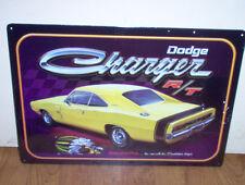 Dodge Charger DG02 Metal/Tin Vintage Auto Garage Reproduction Sign