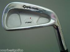 TaylorMade Rac Coin Forged CB 4 Iron Sensicore Gold S300 VGC **** 407 093