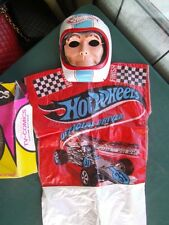 1974 HOT WHEELS HALLOWEEN COSTUME RACE CAR DRIVER + BOX RARE RLC RED LINE ERA