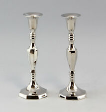 9977014 Paar Kerzen-Leuchter je 1-flammig H 20 cm  NEU