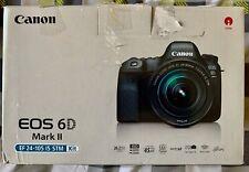 CANON EOS 6D con corpo MARK II 24-105mm F/3.5-5.6 EF IS STM ottime condizioni
